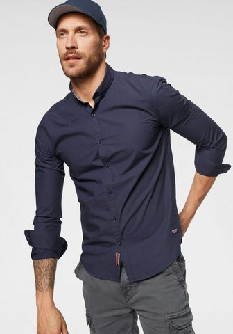 SUPERDRY Рубашка с длинными рукавами