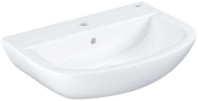 Waschtische - GROHE Waschbecken »Bau Keramik«, 55 cm in weiß, halbrund  - Onlineshop OTTO