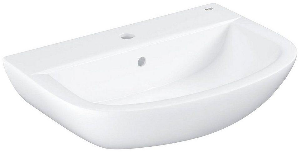 GROHE Waschbecken »Bau Keramik«, 55 cm in weiß, halbrund online kaufen |  OTTO