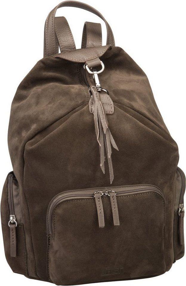 Damen Jost  Rucksack  Daypack Motala 1739 Daypack grün | 04025307745993