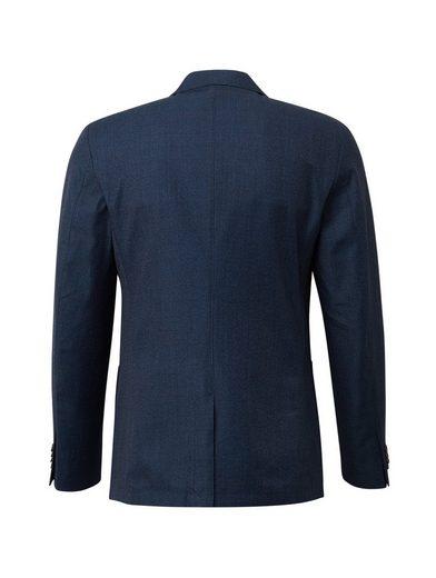 Blau Mit Tailor »blazer Sakko muster« Tom Glencheck Ajq543cRL