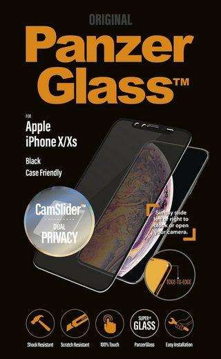 "PanzerGlass Schutzglas »""E2E"" Privacy CamSlider CF iPhone X/Xs«"