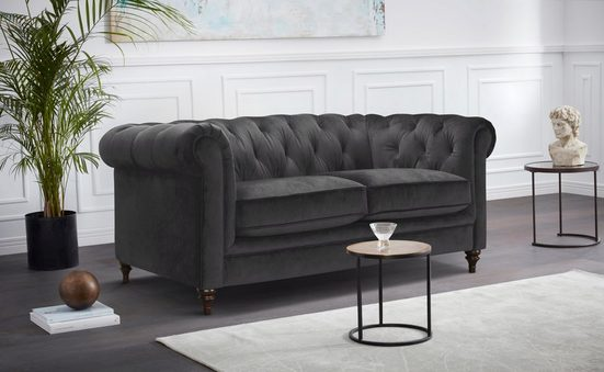 Premium collection by Home affaire Chesterfield-Sofa »Chambal«, mit klassischer Knopfheftung