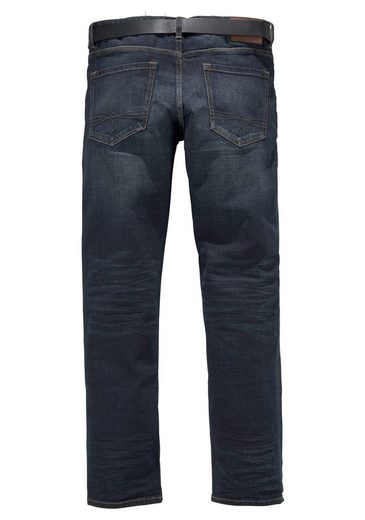 Red »tubx« jeans S 2 set Label Gürtel fit tlg oliver Regular Mit UxCHHfq6w