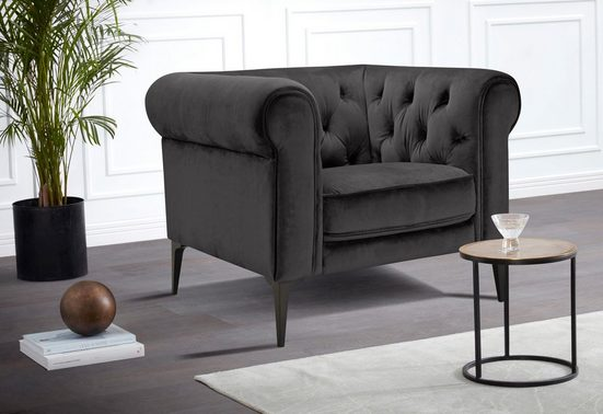 Premium collection by Home affaire Chesterfield-Sessel »Tobol«, im modernen Chesterfield Design