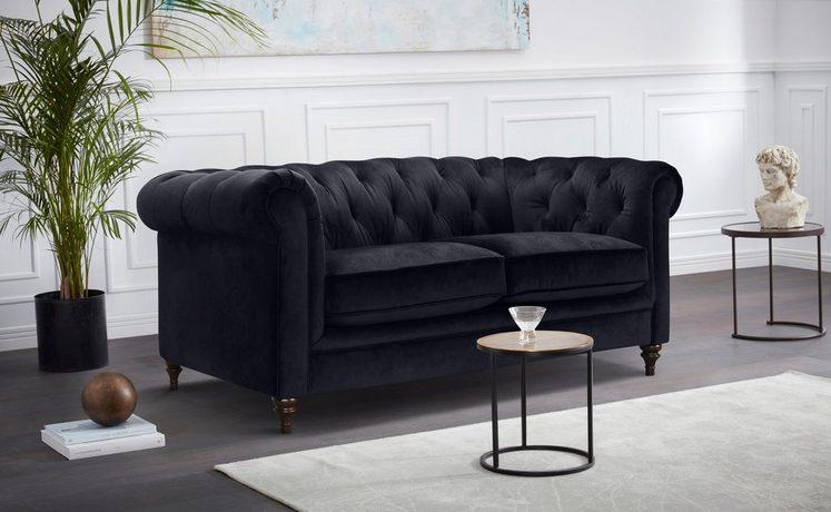 Premium collection by Home affaire 2-Sitzer »Chambal«, mit klassischer Knopfheftung