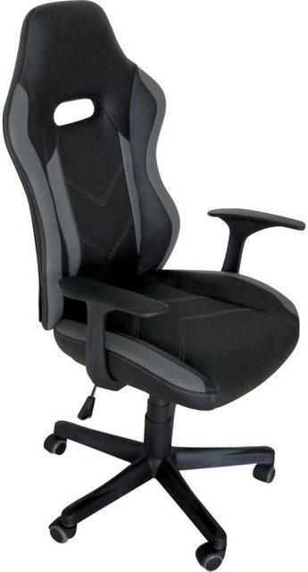 Bürostühle - Home affaire Schreibtischstuhl drehbar » schwarz  - Onlineshop OTTO