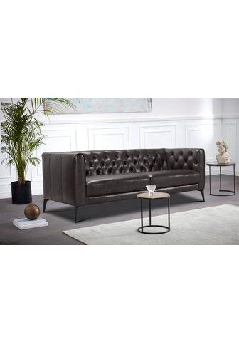 LEONIQUE Chesterfield-Sofa »Narmada«