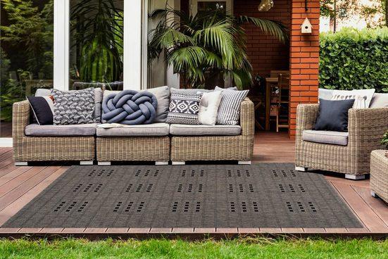Teppich »Sunset 606«  LALEE  rechteckig  Höhe 5 mm  In- und Outdoor geeignet