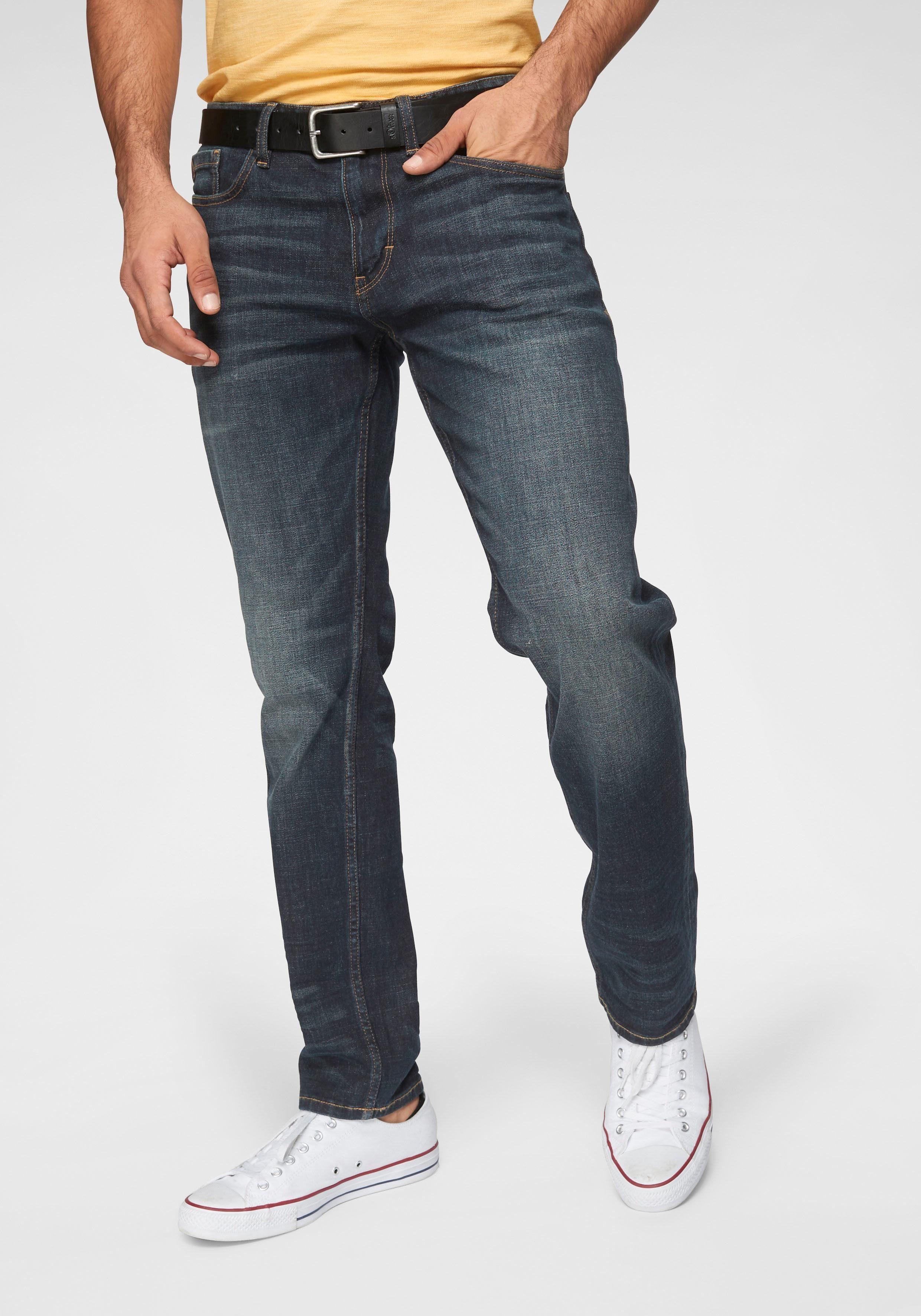 s.Oliver RED LABEL Regular-fit-Jeans »TUBX« (Set, 2-tlg., mit Gürtel)