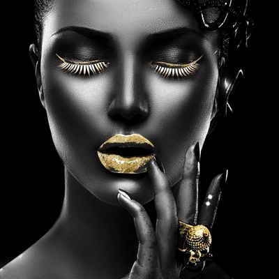 Leonique Acrylglasbild »Gesicht«, Frau