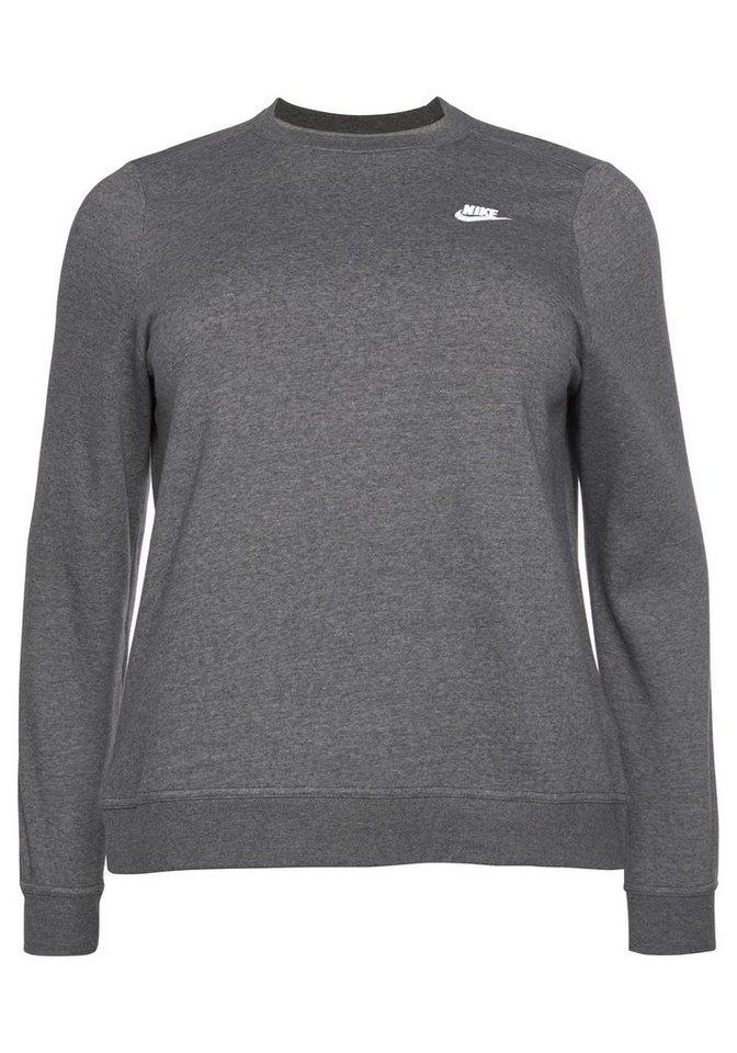 Ultramoderne Nike Sportswear Sweatshirt »WOMEN NIKE SPORTSWEAR CLUB CREW FLEECE NQ-53