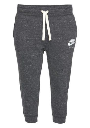 Nike Sportswear 3/4-Hose »WOMEN NIKE SPORTSWEAR GYM VINTAGE CAPRI PLUS SIZE« Große Größen