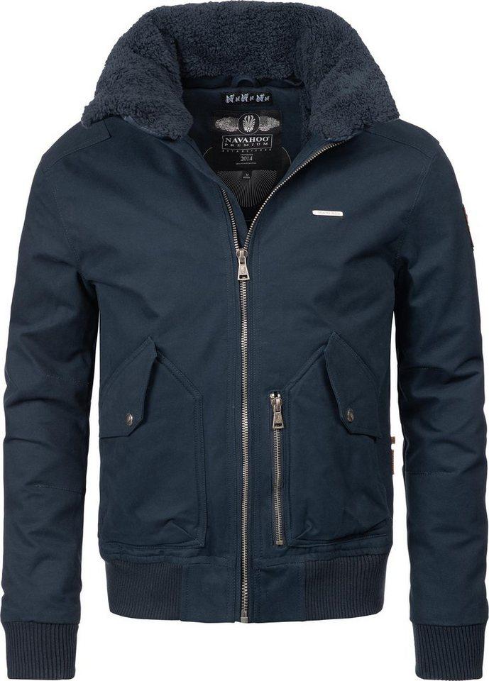 huge selection of 5c423 e324a Navahoo Winterjacke »Jim« stylische Winter Bomberjacke Baumwolljacke online  kaufen | OTTO