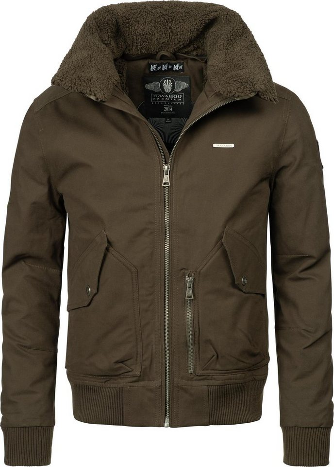 huge selection of 7086d 5272b Navahoo Winterjacke »Jim« stylische Winter Bomberjacke Baumwolljacke online  kaufen | OTTO