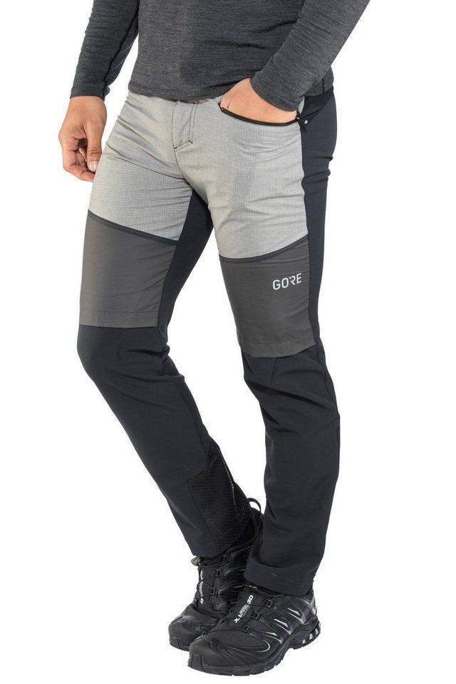 GORE® Wear Outdoorhose »H5 Windstopper Hybrid Pants Men«   Bekleidung > Hosen > Outdoorhosen   Schwarz   GORE® Wear
