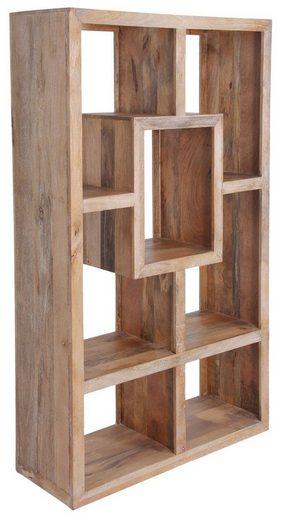 KAWOLA Bücherregal aus Mangoholz »TAO«