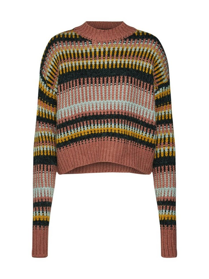 REVIEW Stehkragenpullover »GRAPHIC CHUNKY«