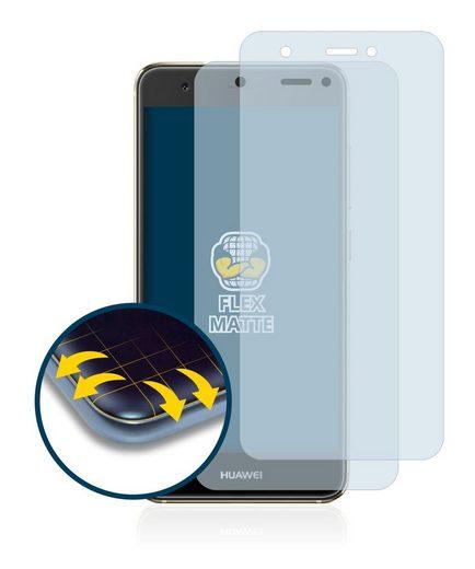 BROTECT Schutzfolie »für Huawei Nova«, (2 Stück), Full-Cover 3D Curved matt entspiegelt