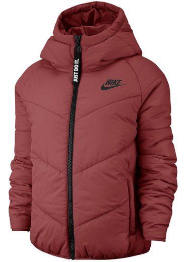 Nike Sportswear Winterjacke »W NSW WR SYN FILL JKT HD« gefüttert