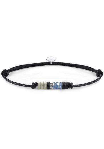 THOMAS SABO Armband »Little Secret Ethno, LS090-811-7-L22v«, mit Obsidian, Dumortierit und Labradorit