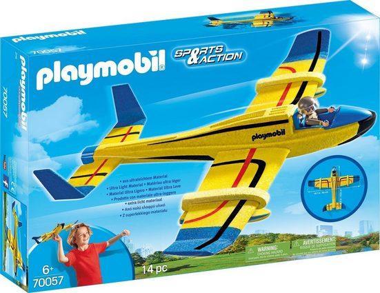 Playmobil® Konstruktions-Spielset »Wurfgleiter »Wasserflugzeug« (70057), »Sports & Action««, Kunststoff