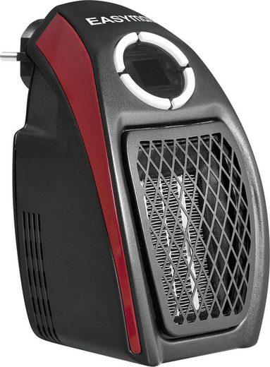 EASYmaxx Heizgerät Mini-Heizung schwarz/rot, 500 W