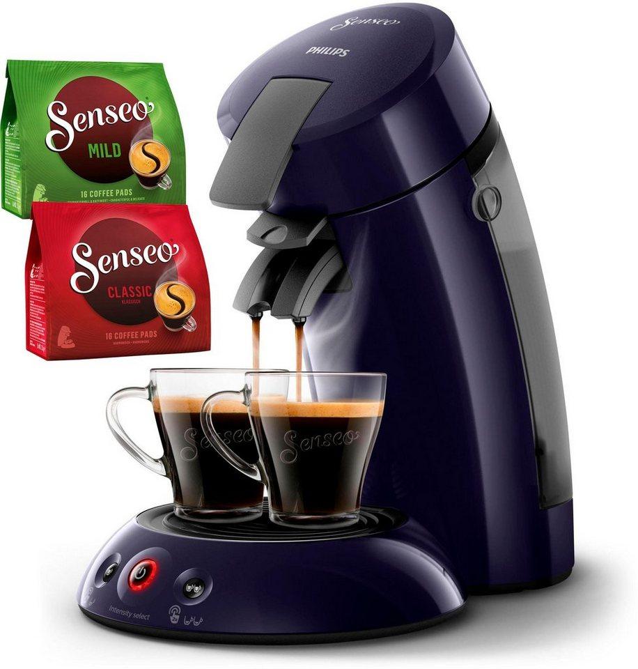 Senseo Kaffeepadmaschine HD6554 40 New Original Inkl Gratis Zugaben Im Wert Von