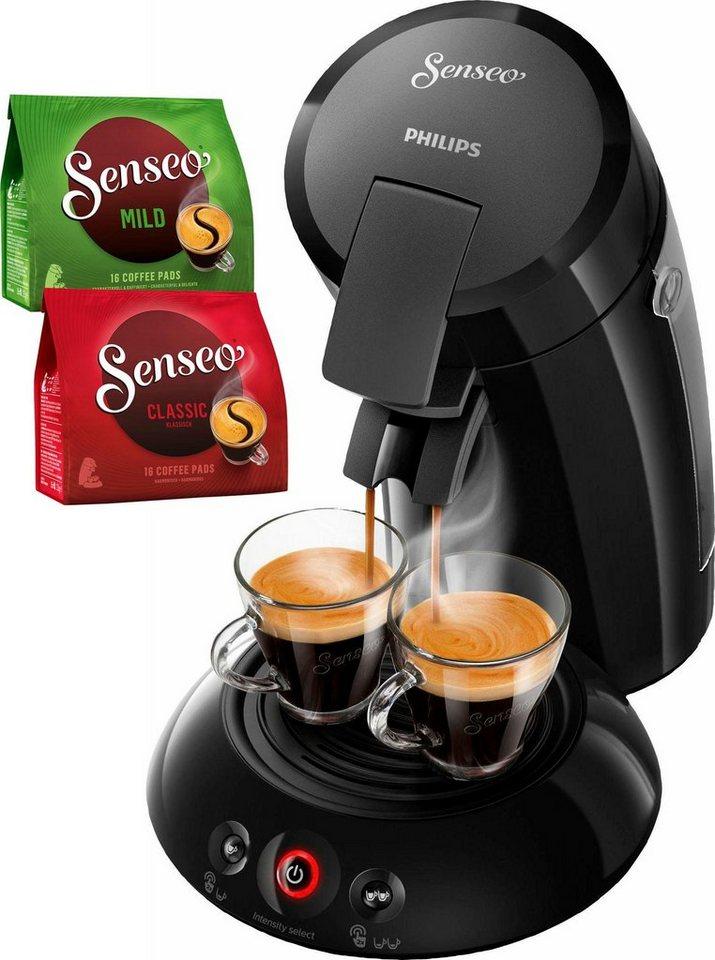 senseo kaffeepadmaschine hd6554 68 new original inkl. Black Bedroom Furniture Sets. Home Design Ideas