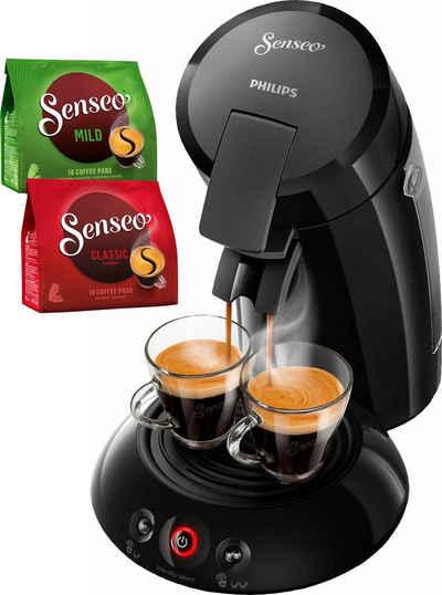 Senseo Kaffeepadmaschine HD6554 68 New Original Inkl Gratis Zugaben Im Wert Von