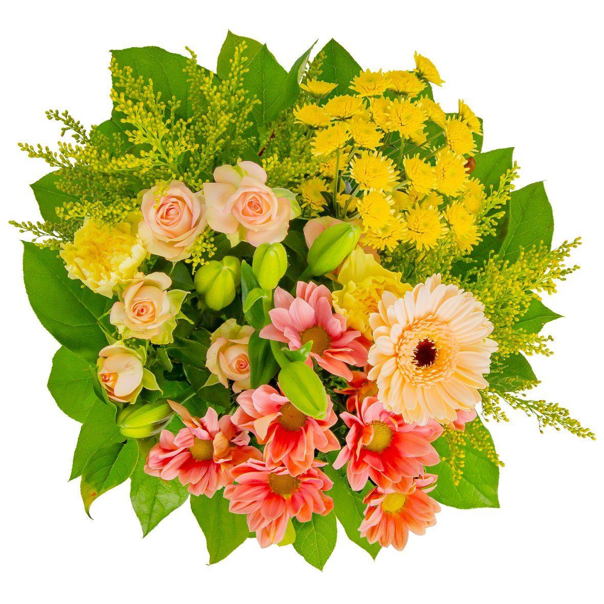 FLOWRFRAME Blumenstrauß »12 bunte gemischte Blumen«