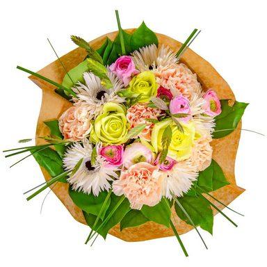FLOWRFRAME Blumenstrauß »28 bunte gemischte Blumen«