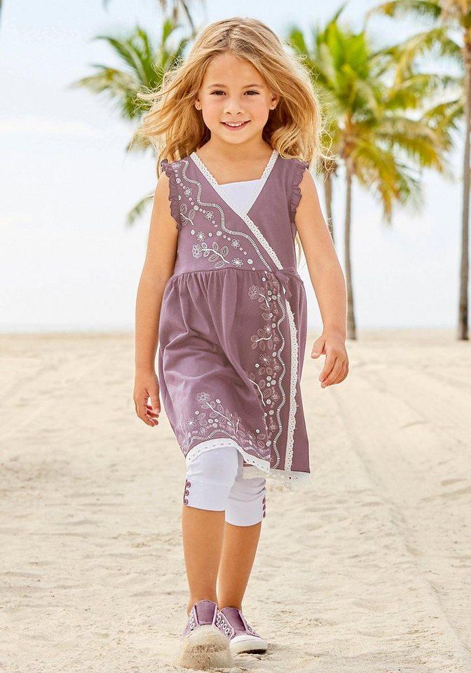 2f7852dba05fc0 Arizona Kleid & Leggings (Set, 2-tlg) Kleid in Wickeloptik online ...