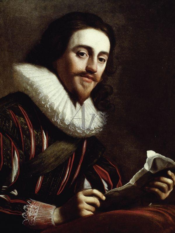 Artland Wandfolie »van Honthorst: König Charles I. von England, 1628« | Dekoration > Bilder und Rahmen > Bilder | Schwarz | Artland