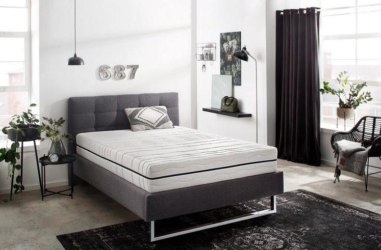Komfortschaummatratze »Deluxe P1480«, Sun Garden, 25 cm hoch, Flexibeler Härtegrad für alle Schlaftypen