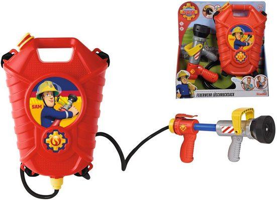 SIMBA Wasserpistole »Feuerwehrmann Sam - Löschrucksack«