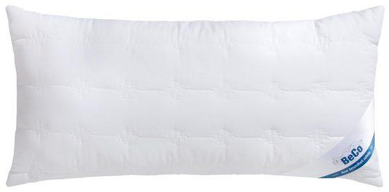 Microfaserkissen, »Medibett Cotton Soft«, Beco, Füllung: Faserbällchen, Bezug: Polyester & Baumwolle, (1-tlg), Toller Mix aus Baumwolle und Microfaser