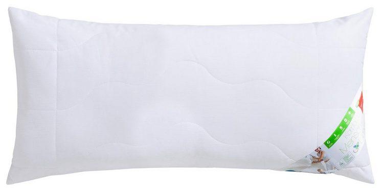 Baumwollkissen, »DACRON®ECO«, Wendre, Füllung: Polyestergewebe, Bezug: Baumwolle, (1-tlg), mit hochwertiger DACRON® eco Markenfüllfaser