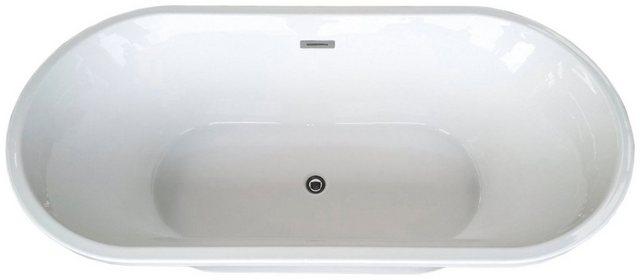 Badewannen und Whirlpools - HOME DELUXE Badewanne »Carlee«, 170 x 80 x 62 cm, freistehend  - Onlineshop OTTO