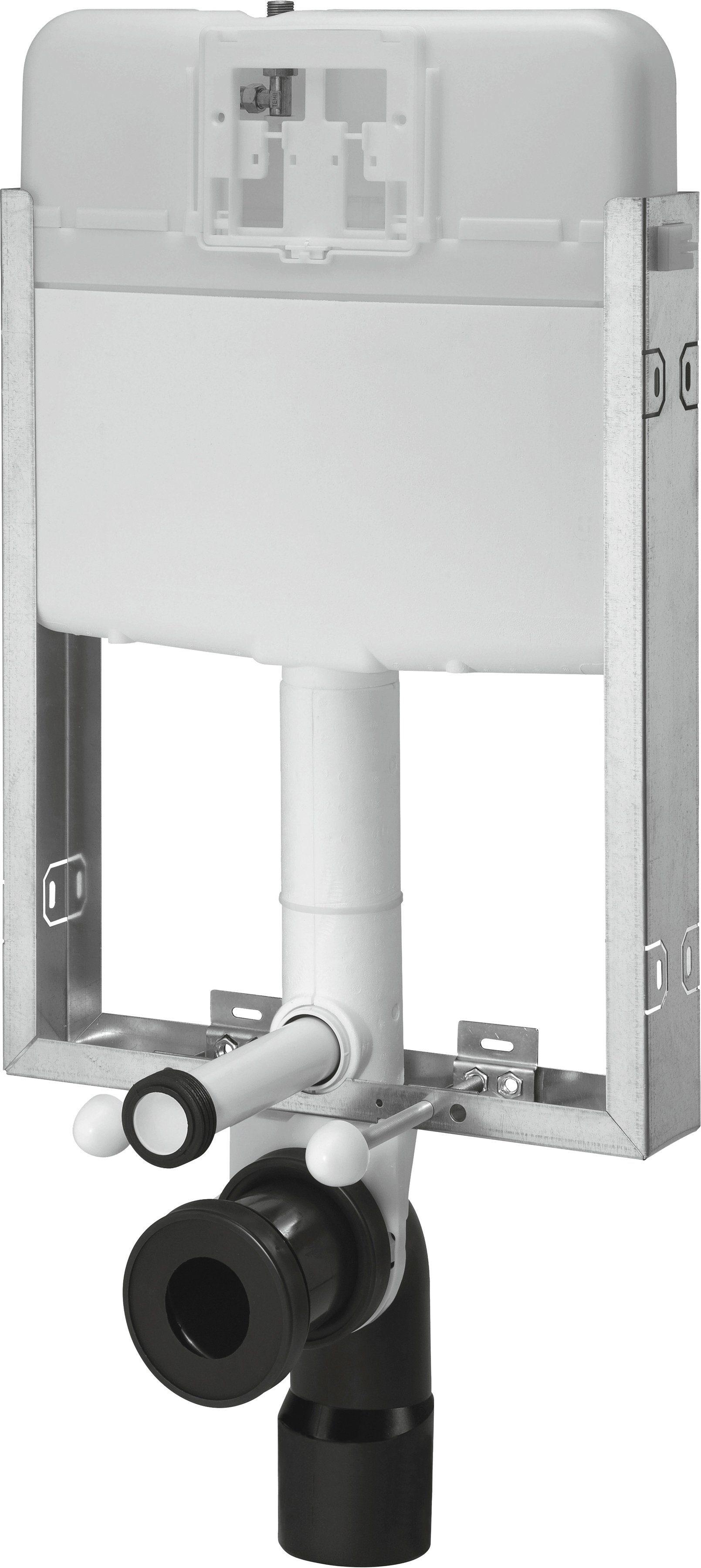 CORNAT Vorwandelement für WC »512«, Wandeinbau-Spülkasten, 2- Mengen