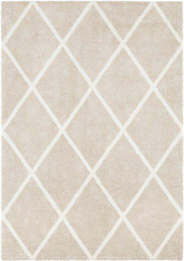 Teppich »Lunel«, ELLE Decor, rechteckig, Höhe 17 mm, Hoch-Tief-Optik