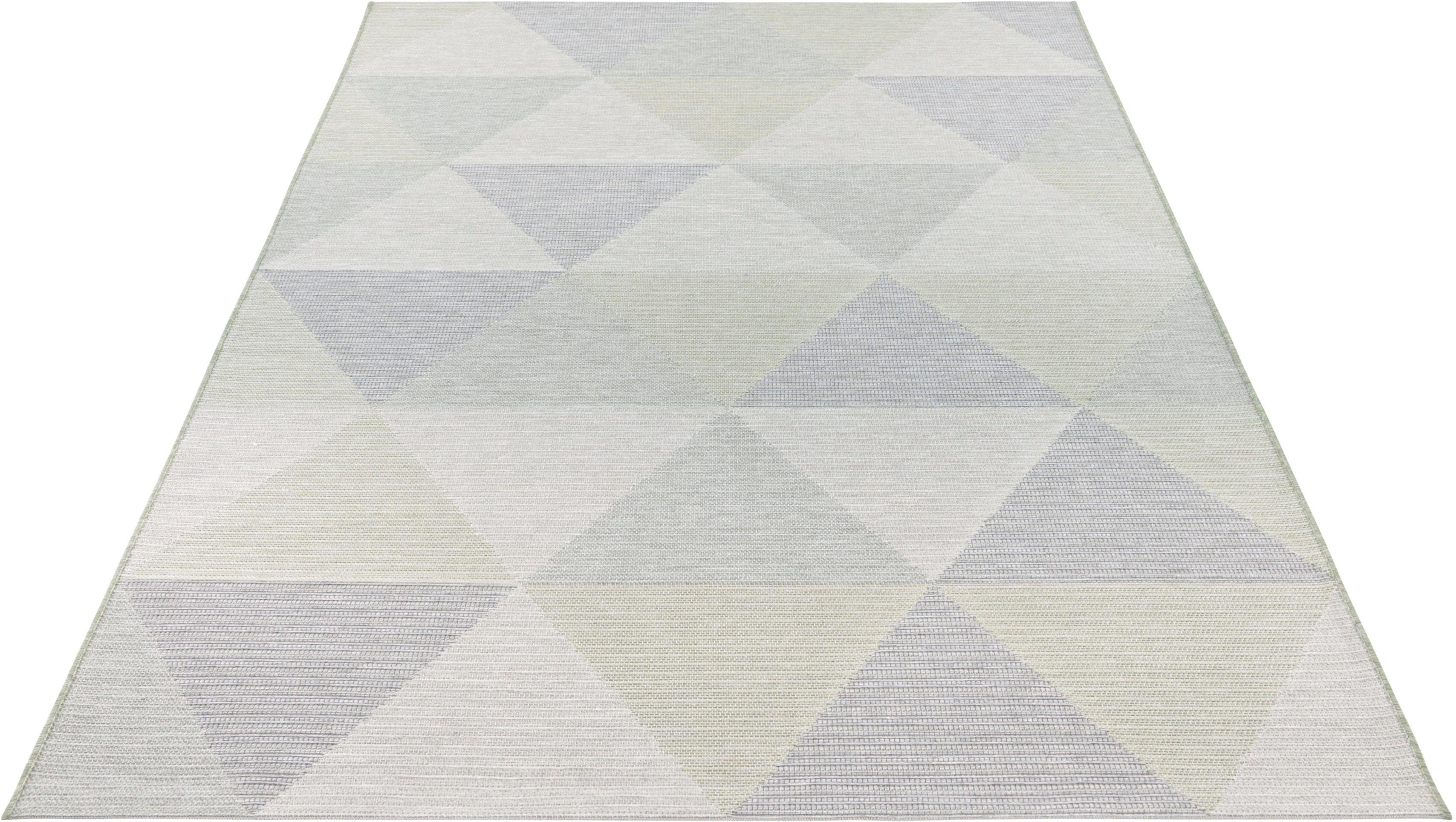 Teppich »Sevres«, ELLE Decor, rechteckig, Höhe 4 mm, In- und Outdoor geeignet
