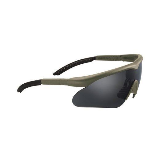SWISS EYE® Fahrradbrille »SCHUTZBRILLE SWISS EYE® RAPTOR«, Antifog/Antiscratch-Beschichtung
