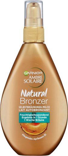 GARNIER Selbstbräunungsmilch »Ambre Solaire Natural Bronzer Milch«