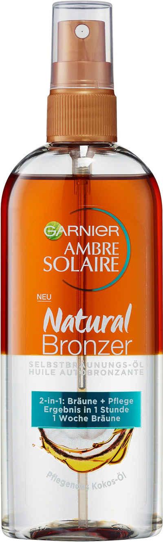 GARNIER Selbstbräunungsöl »Ambre Solaire Natural Bronzer 2-in-1-Öl«