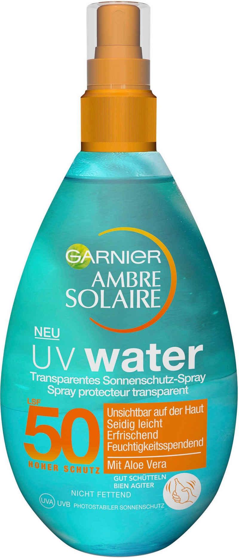 GARNIER Sonnenschutzspray »Ambre Solaire UV Water LSF 50«