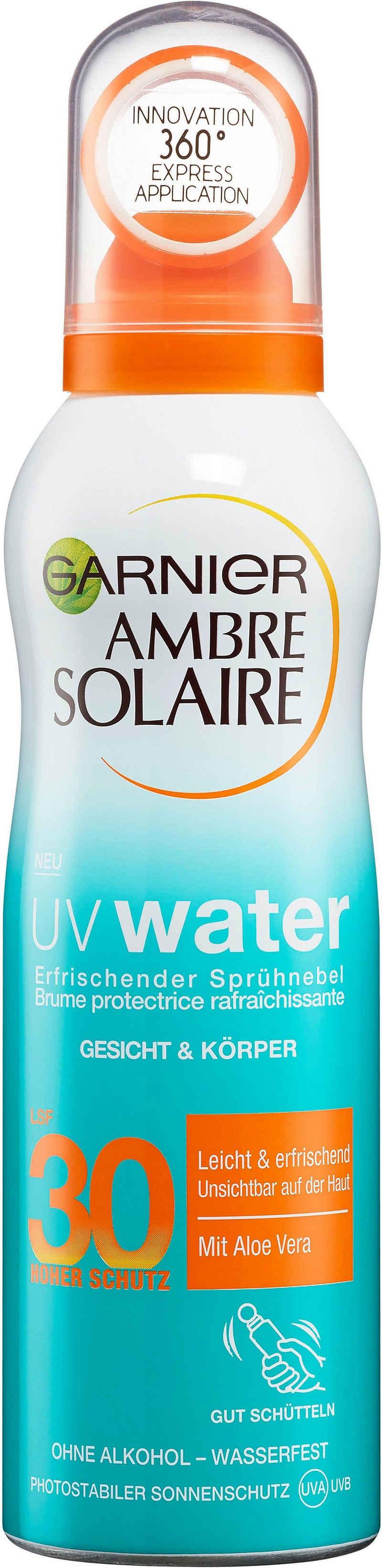 GARNIER Sonnenschutzspray »Ambre Solaire UV Water LSF 30«