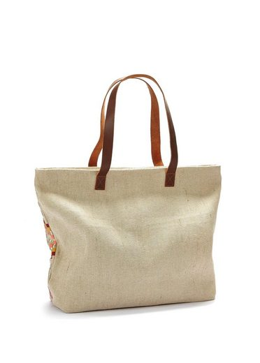 LASCANA Strandtasche, mit Bestickung