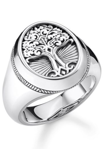 THOMAS SABO Silberring »Tree of Love, TR2245-637-21-48, 50, 51, 52, 54, 56, 58, 60, 62, 64, 66, 68«