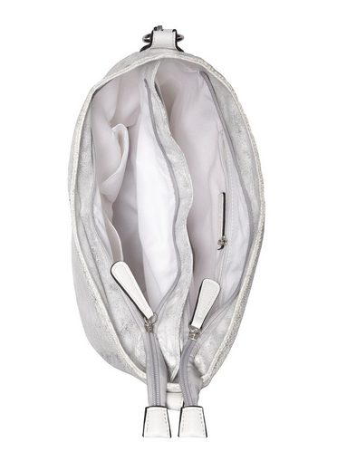 LASCANA Umhängetasche  mit Tassel in Glitzeroptik